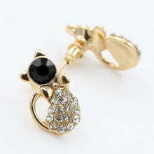 Load image into Gallery viewer, Golden Kitty Luxe Studs