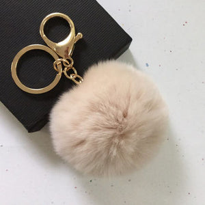 Fur Luxe Key Rings