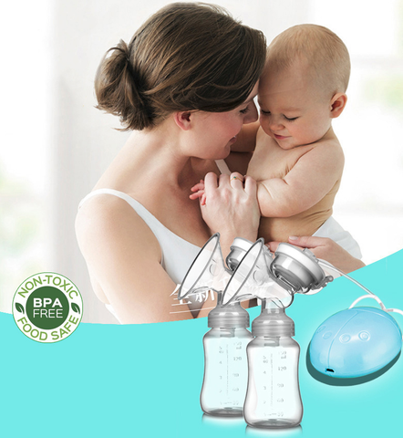 Electric Double Breast Pump - Beyond Baby Talk