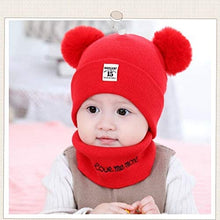 Load image into Gallery viewer, Soft Warm Knitted Baby Hats