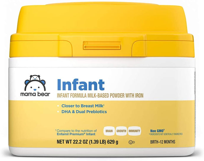 Milk-Based Powder Infant Formula