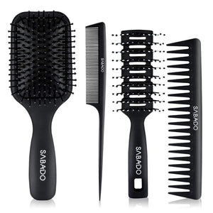 4Pcs Hair Brush Set