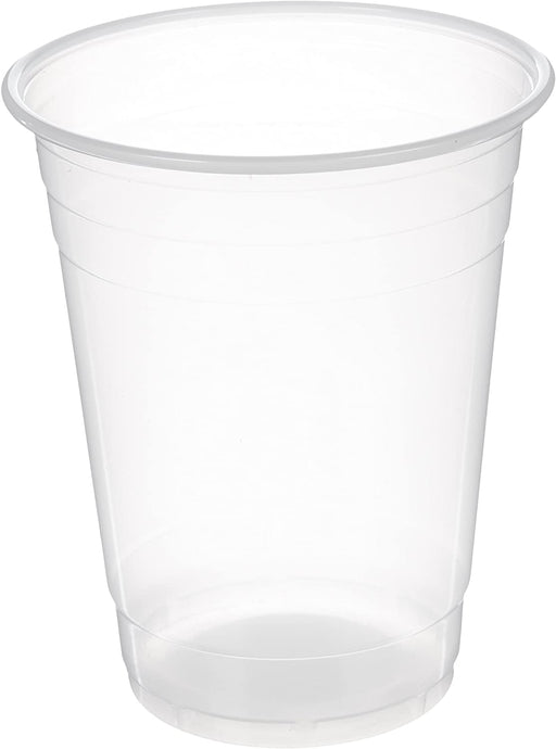 Plastic Cups, Translucent, 16 Ounce, Pack of 100
