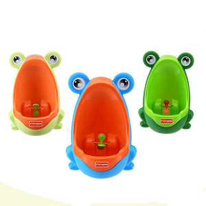 Cute Frog Toilet Training Urinal for Boys