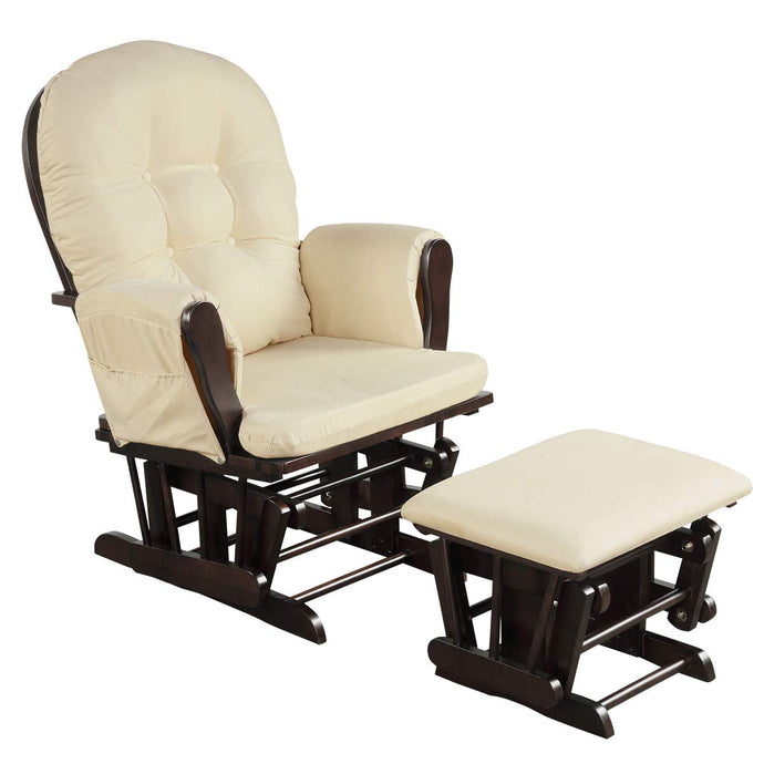 Baby Glider and Ottoman Feeding Chair