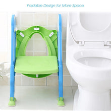Load image into Gallery viewer, Toilet Training Seat with Step Stool Ladder