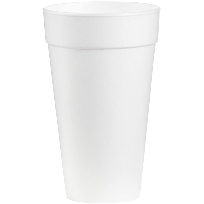 Big Drink Foam Cup White