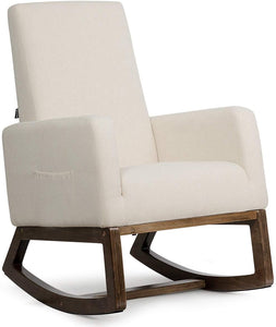 Rocking Chair Upholstered For Breastfeeding