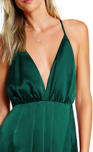 Load image into Gallery viewer,  Women Sexy Deep V Neck Backless Maxi