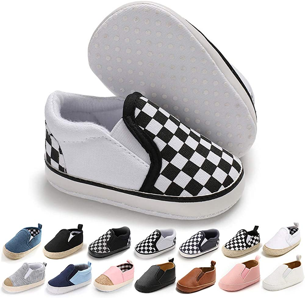 Baby Canvas Shoes Soft Sole Skate Shoe