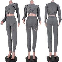 Load image into Gallery viewer, Sweatsuits for Women Set Long Sleeve