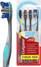 Load image into Gallery viewer, CTotal Advanced Floss-Tip Bristles Toothbrush