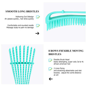 Brush and Wide Tooth Comb Set