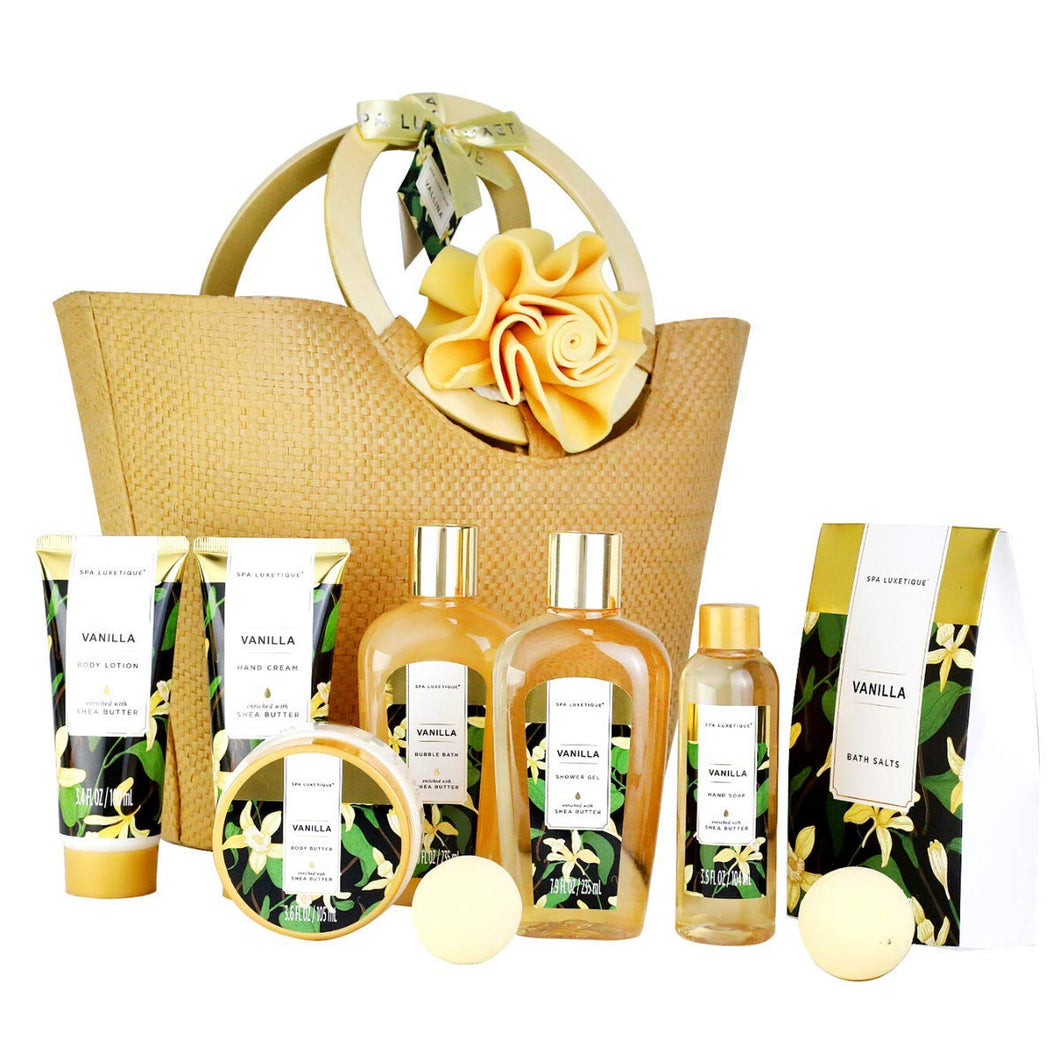 Vanilla Bath and Body Gift Basket