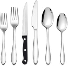 Load image into Gallery viewer, Stainless Steel Flatware Cutlery Set