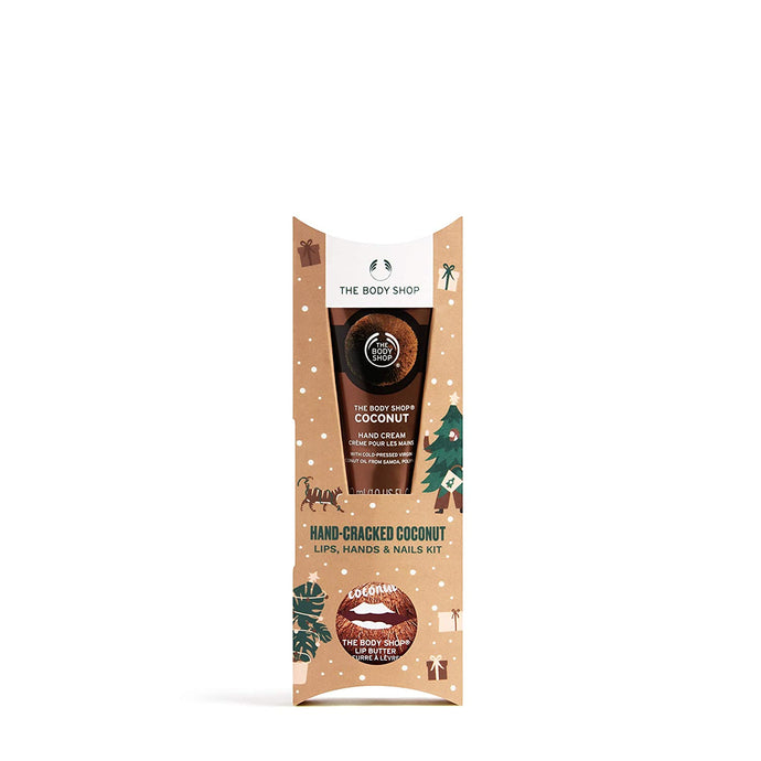 The Body Shop Nourishing Coconut Kit