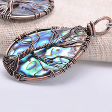 Load image into Gallery viewer, Sea Abalone Shell Earrings/Pendant Necklace