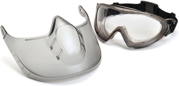 Safety Goggles and Face Shield for Protection