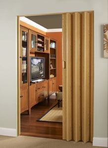 Oakmont Interior Accordion Folding Door