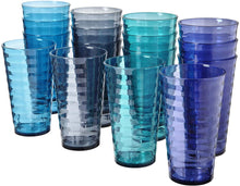 Load image into Gallery viewer, 18-ounce Plastic Tumblers Cups