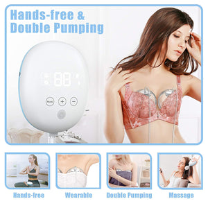 Wearable Electric Double Breast Pump