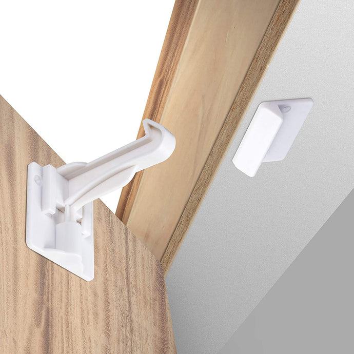 Invisible Baby Proofing Cabinet Latch Locks