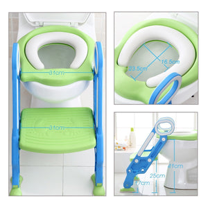 Toilet Training Seat with Step Stool Ladder
