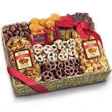 Load image into Gallery viewer, Chocolate Caramel and Crunch Grand Gift Basket