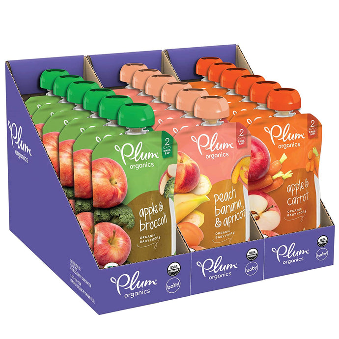 Baby Food Fruit and Veggie Variety Pack