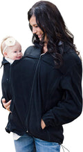 Load image into Gallery viewer, Suse's Kinder Babywearing Fleece Jacket