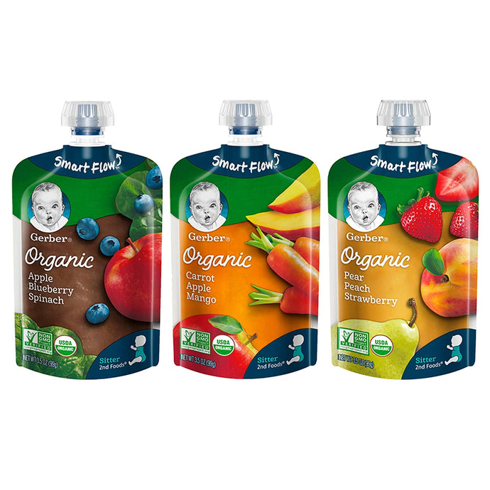 Organic 2nd Foods Pouches