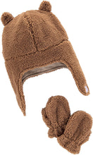 Load image into Gallery viewer, Simple Joys by Carter's Baby Hat and Mitten Set