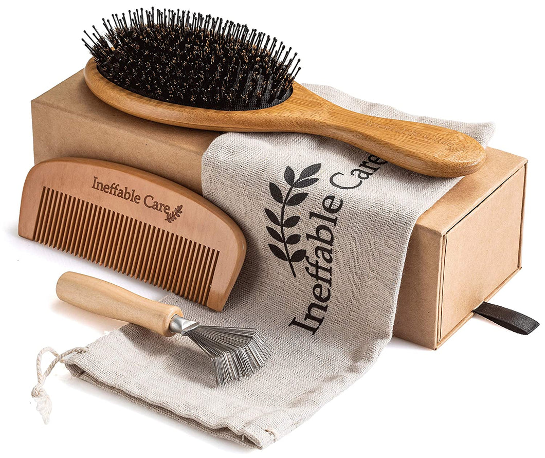 Wooden Comb & Detangling Hair Brushes