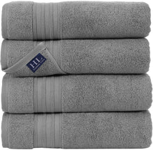 Load image into Gallery viewer, Linen 100% Cotton 27x54 4 Piece Towels