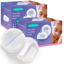 Load image into Gallery viewer, Stay Dry Disposable Nursing Pads for Breastfeeding
