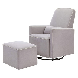 Upholstered Swivel Glider Feeding Chair