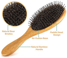 Load image into Gallery viewer, Wooden Comb & Detangling Hair Brushes