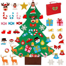 Load image into Gallery viewer, DIY Felt Kids Toy Christmas Tree