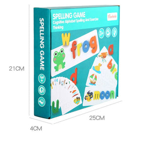 Letter Recognition Word Spelling Toys