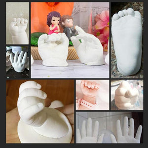 3D Hand & Foot Print Casting Kit | Beyond Baby Talk - Baby Products, Toys & Mother Essentials