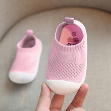 Load image into Gallery viewer, Baby First Walkers Mesh Soft Bottom Non-slip Shoes
