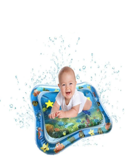 Baby Tummy Time Inflatable Water Play Mat