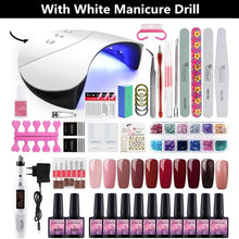 Load image into Gallery viewer, Home Salon Nail  Gel Polish Manicure Art Kit