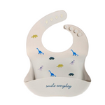 Load image into Gallery viewer, Waterproof Soft Silicone Baby Bib