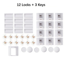 Load image into Gallery viewer, Baby Safety Cabinet Drawer Door Magnetic Lock