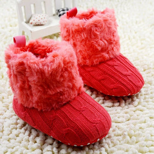 Baby Winter Warm Fleece Knit Boots