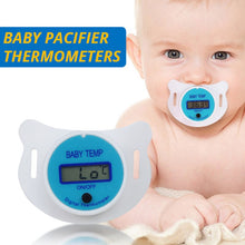 Load image into Gallery viewer, Baby Pacifier Digital Thermometer