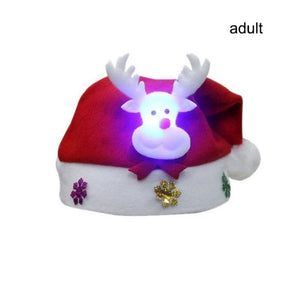 Christmas LED Light-Up Hat