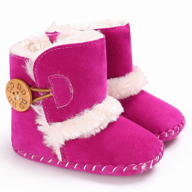 Baby Plush Ankle Snow Boots