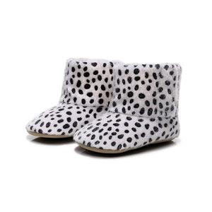 Baby Non-slip Soft-Soled Faux Fur Knitted Boots